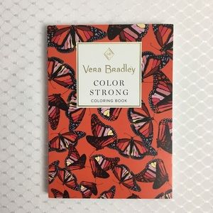4/ $25. VERA BRADLEY Adult Coloring Book.